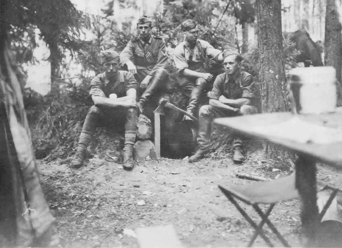 Donsbach Juli 1941 Kameraden Schramm Stein Bless Donsbach