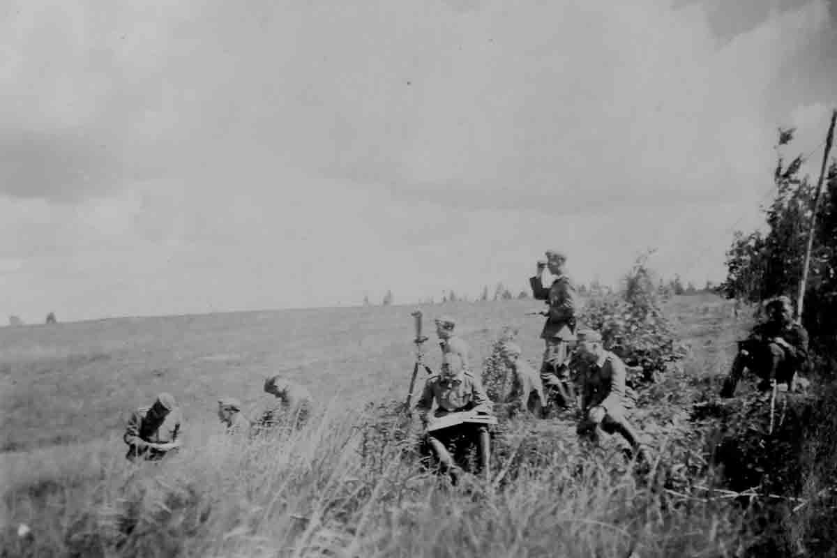 Donsbach Juli 1941 Feindsichtung