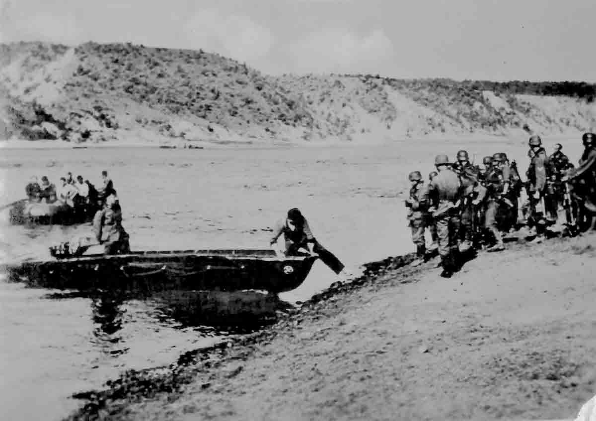 Donsbach Oktober 1941 Flussuebersetzung Desna