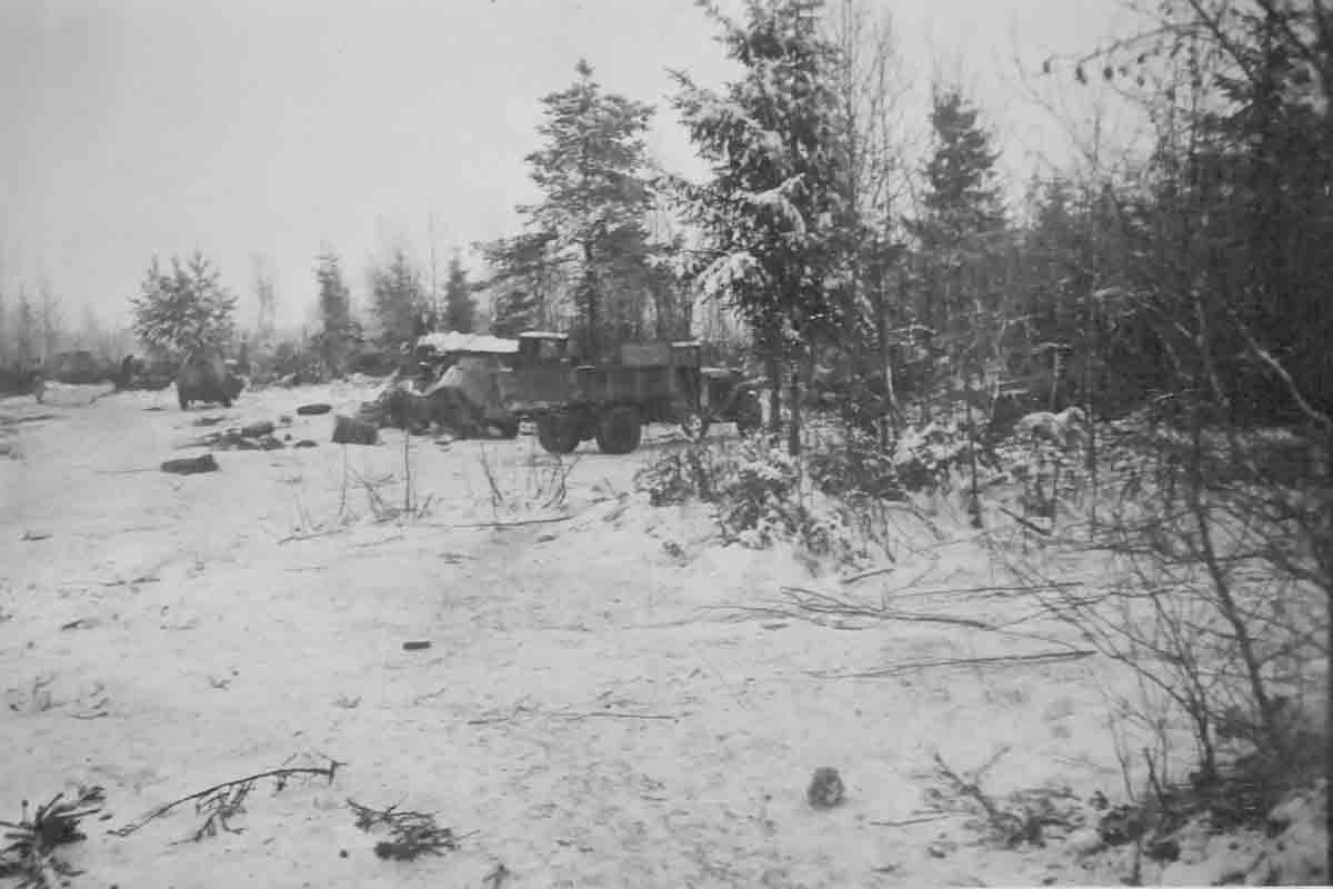 Donsbach Februar 1942 Iwanowskoje Winter
