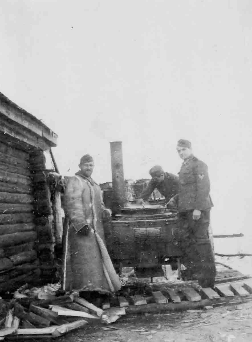 Donsbach Februar 1942 Gulaschkanone