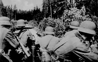 Donsbach Februar 1942 Patroullie Jagd auf Partisanen
