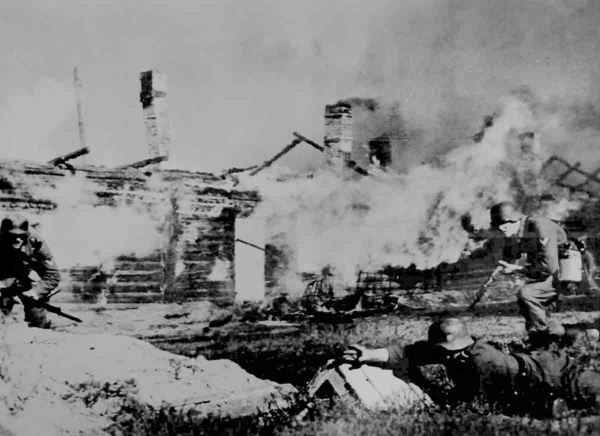 Donsbach Februar 1942 Zerstörungen