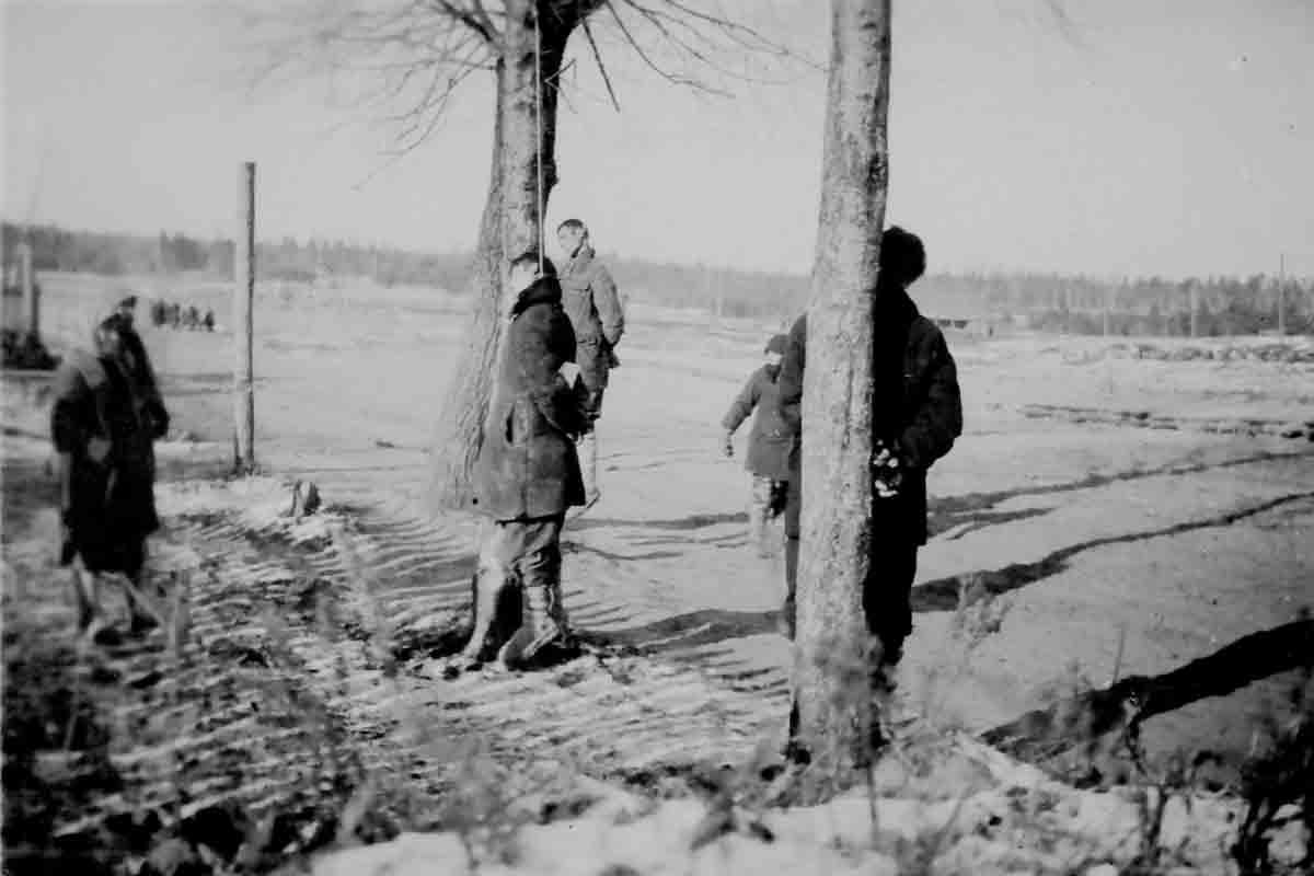 Donsbach Winter 1942 erhängte Partisanen