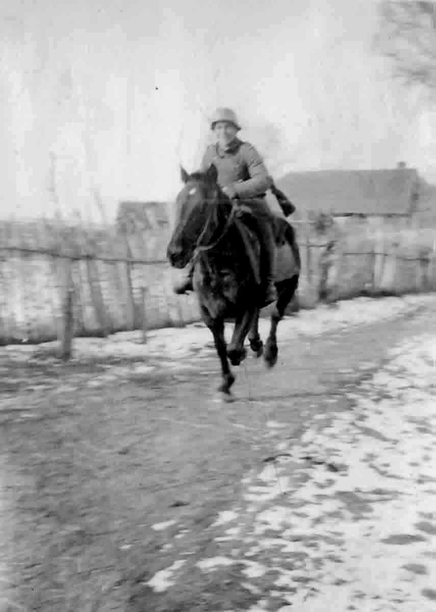 Donsbach Winter 1943 Reiter Donsbach
