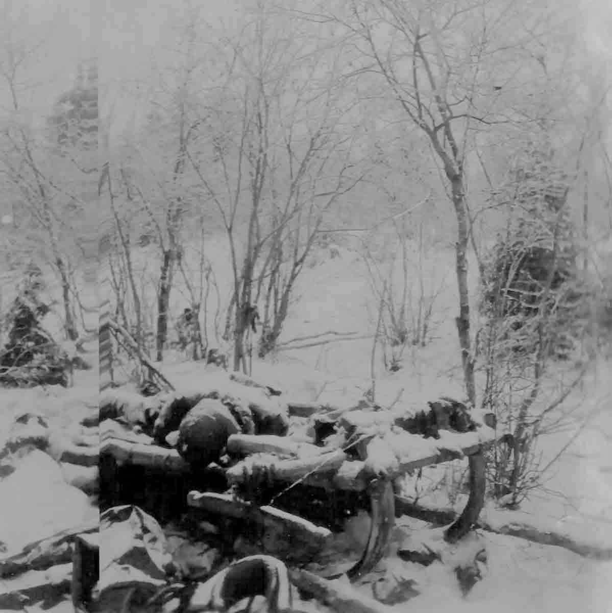 Donsbach Winter 1943 Kesselschlacht