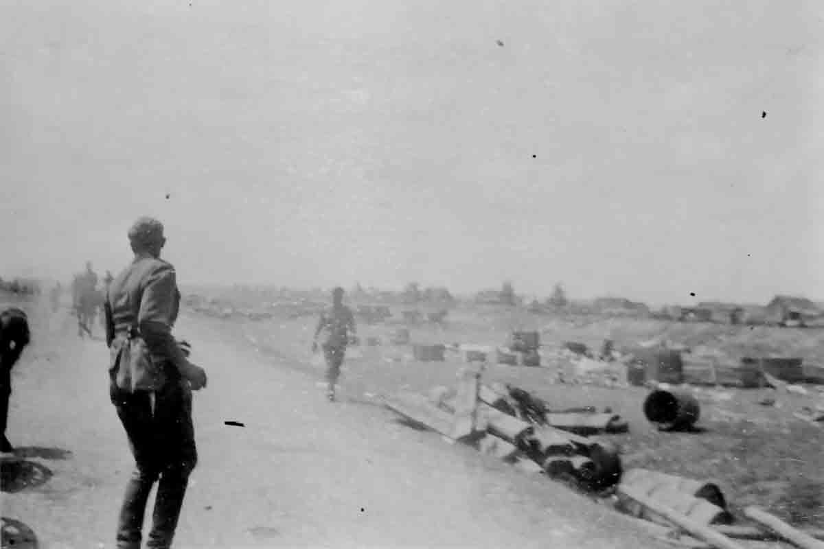 Donsbach Januar 1943 Verwuestungen