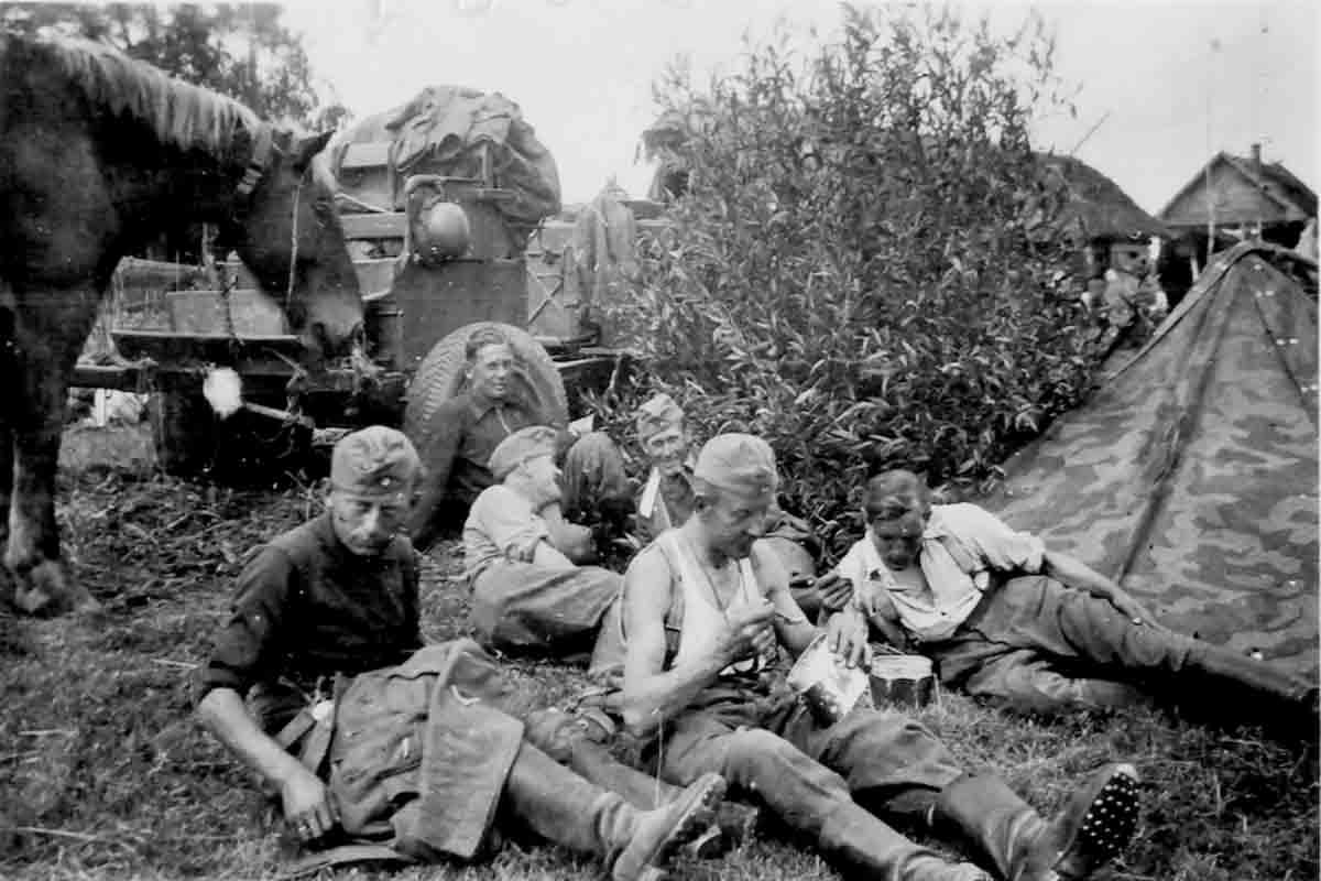 Donsbach April 1943 Rast