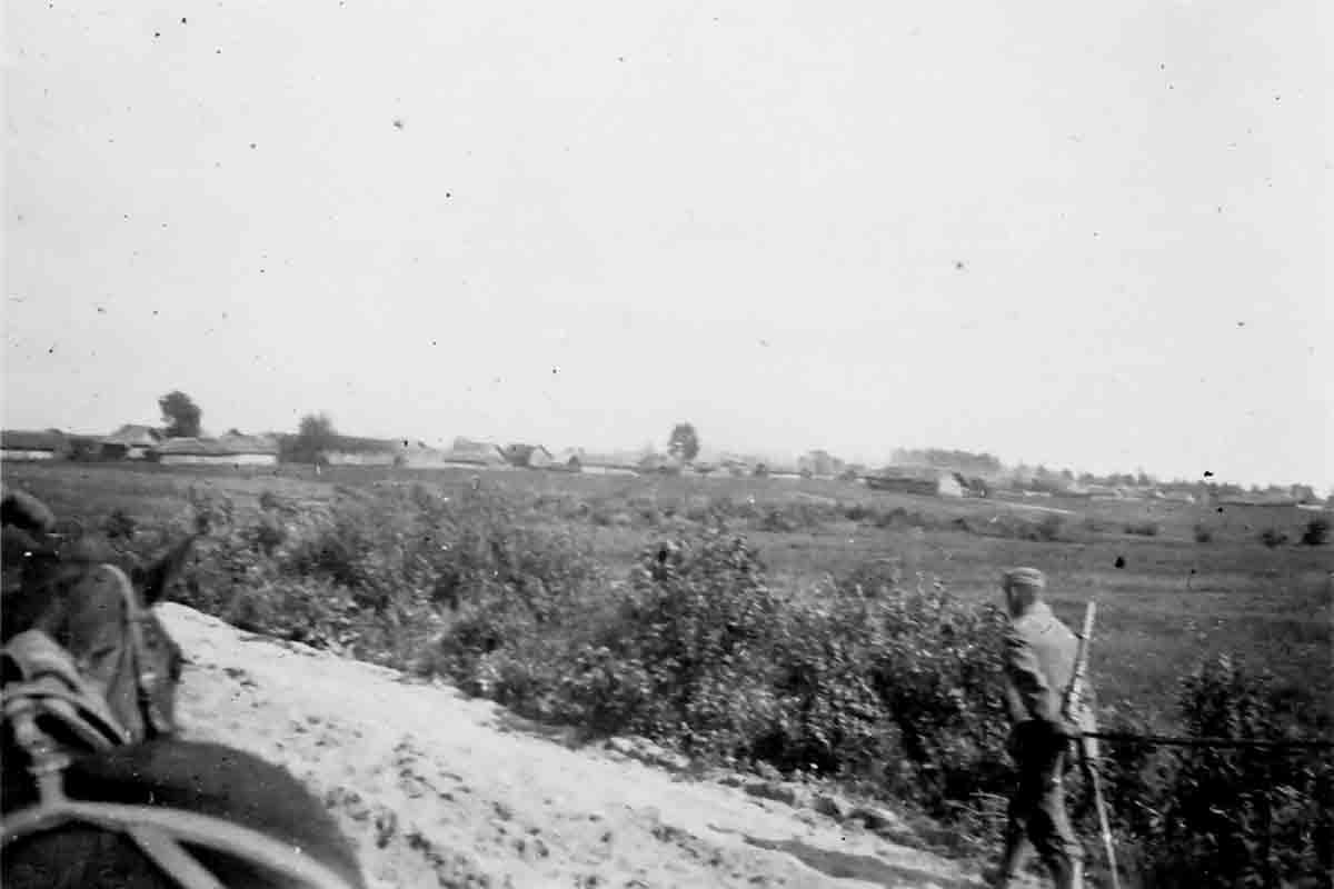 Donsbach Kolchose 1943 April Weites Land
