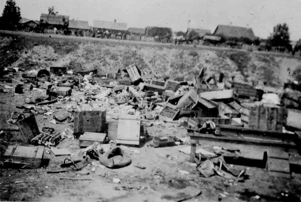 Donsbach 1943 Zerstörungen