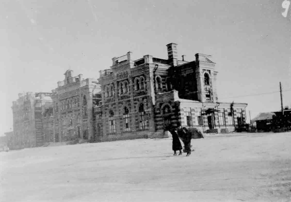 Donsbach letztes Foto aus dem Krieg 1943