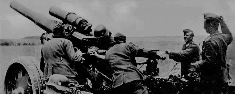 Unternehmen Barbarossa Kanone-Kaliber-105-mm