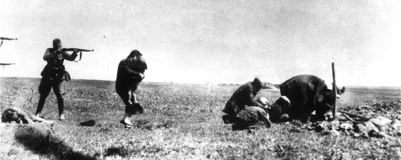Unternehmen Barbarossa Soldat erschießt Frau mit Kind