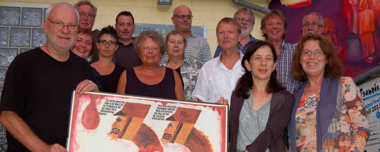 Banner Gründungsmitglieder von Wetzlar erinnert am 06.08.2013