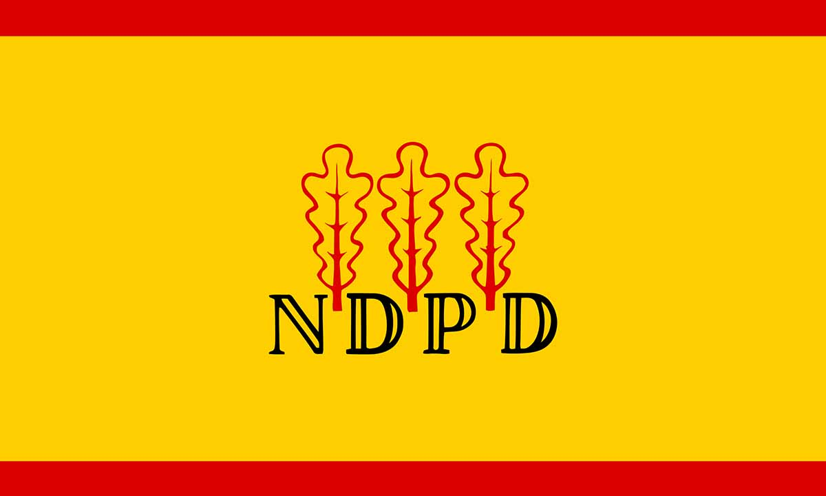 Operation Barbarossa NDPD-Flagge