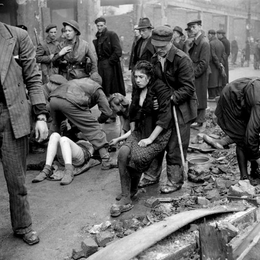 Unternehmen Barbarossa Ostarbeiterinnen in Osnabrück, die kurz vor ihrer geplanten Ermordung errettet werden konnten