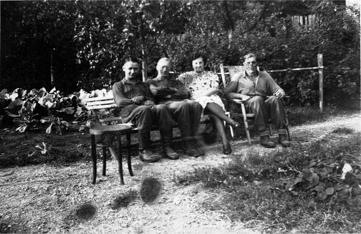 Waldemar Lesser Heimaturlaub Familie Feldpostbriefe