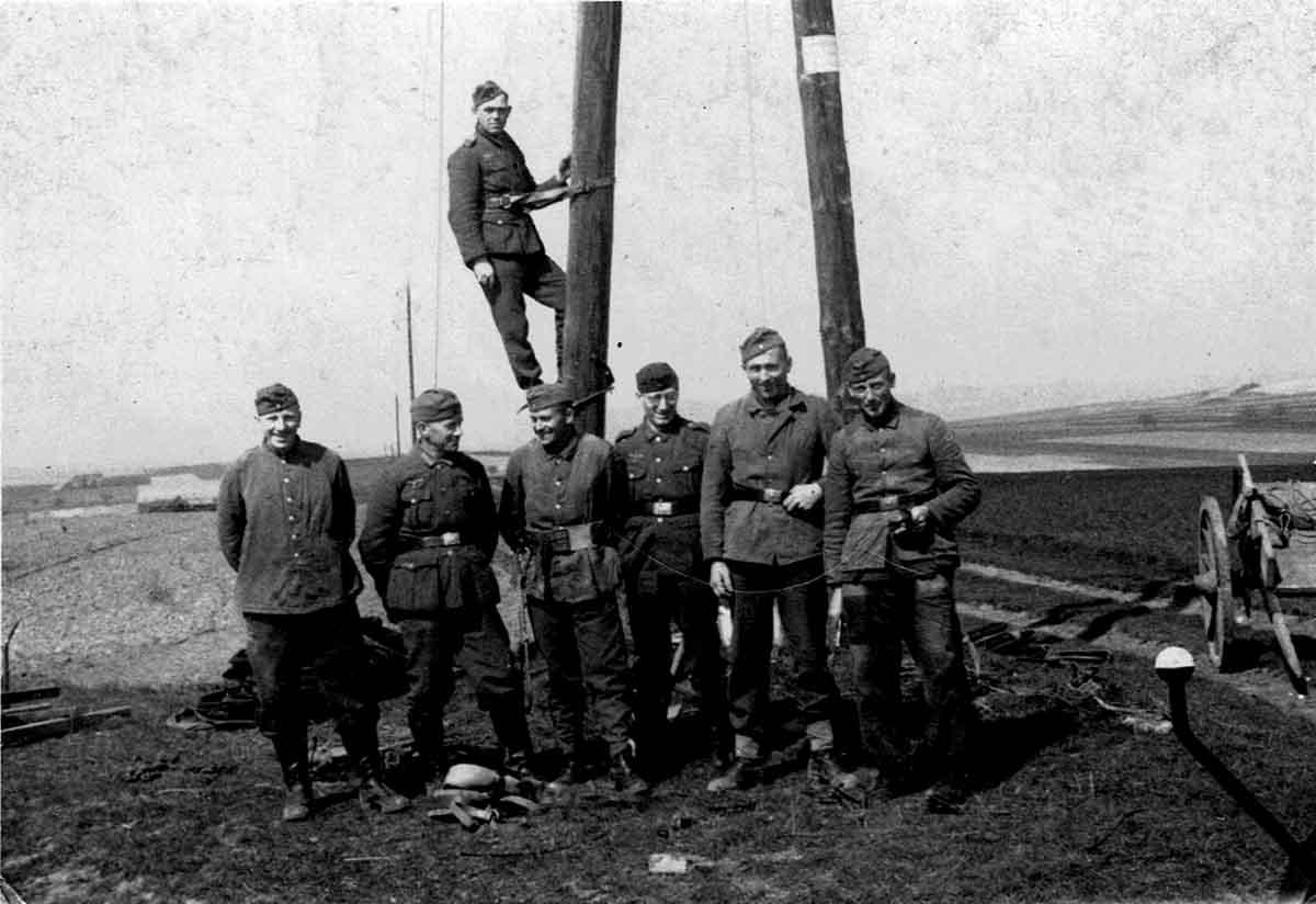 Waldemar Lesser Fernmeldetrupp Feldpostbriefe