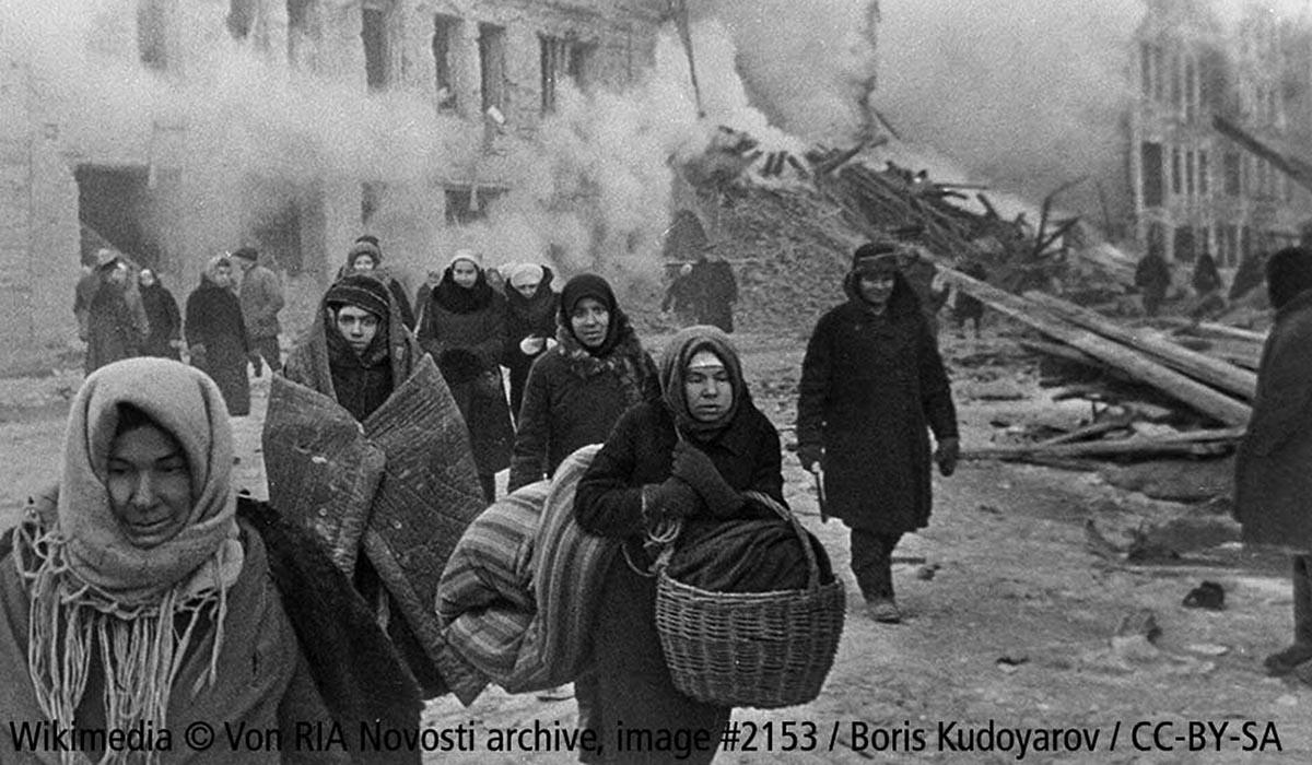 Die Blockade Leningrads