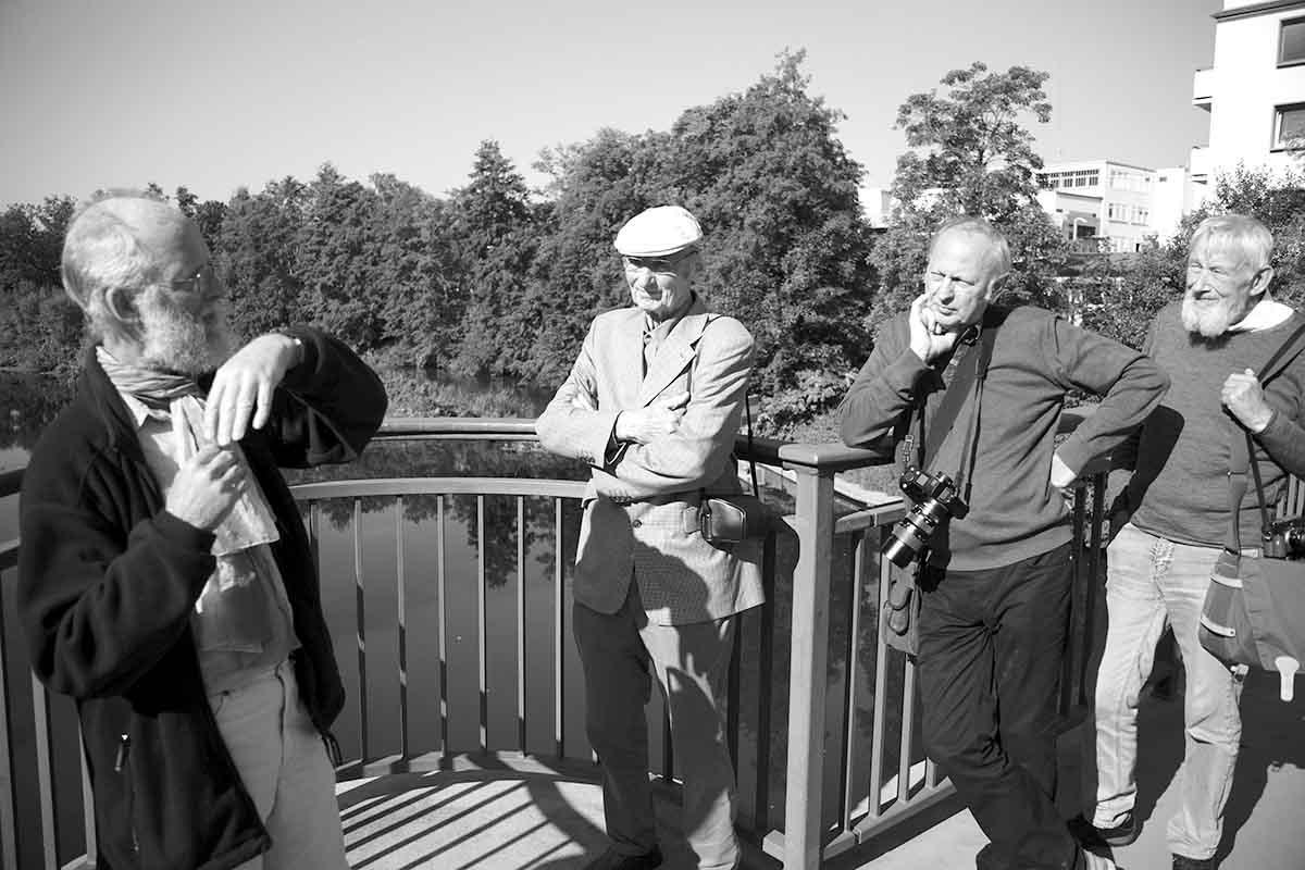 Leicafreunde am 04.09.2021 auf den Spuren der Fa. Leiz im NS
