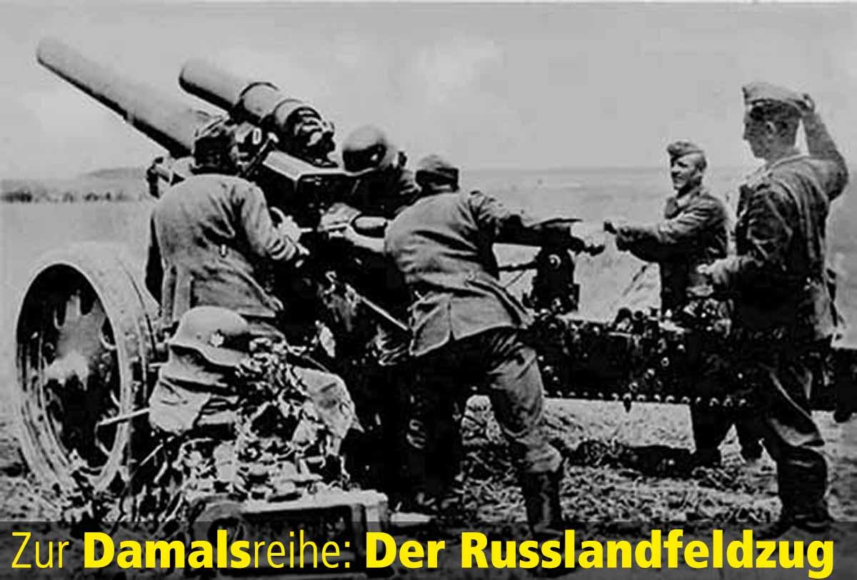 Damalsreihe Russlandfeldzug Unternehmen Barbarossa Teaser